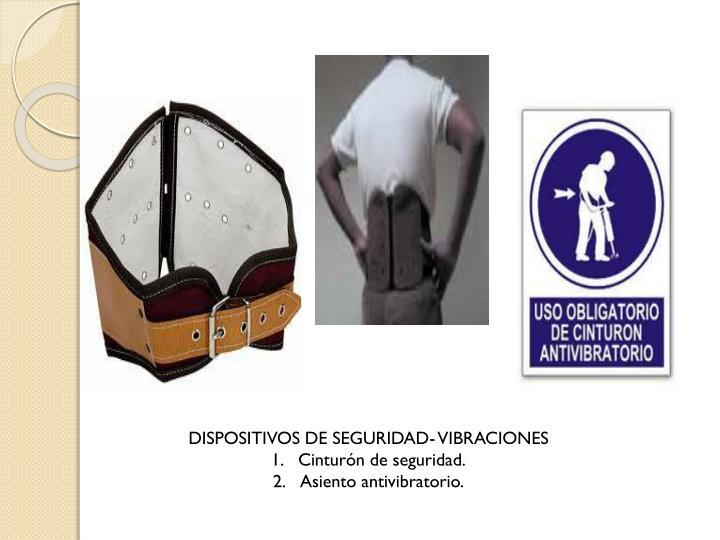 DISPOSITIVOS DE SEGURIDAD- VIBRACIONES