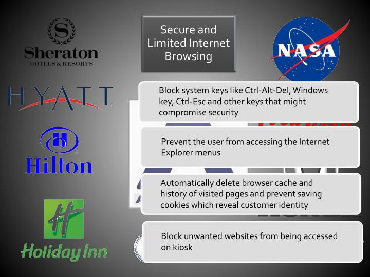 Secure and Limited Internet Browsing