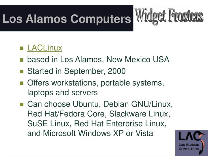 Los Alamos Computers