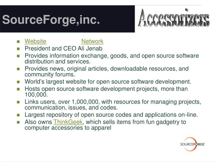 SourceForge,inc.