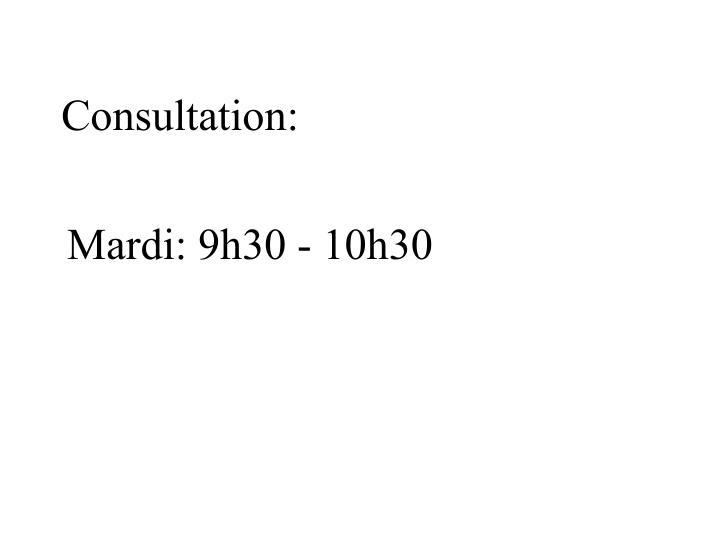 Consultation: