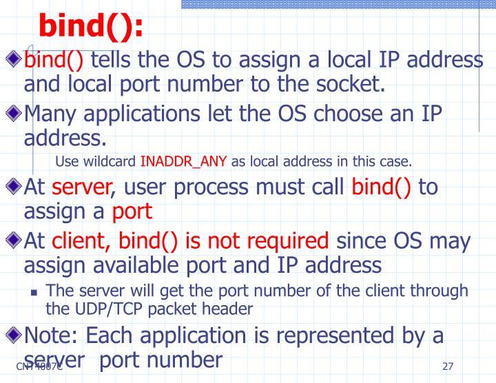 bind():