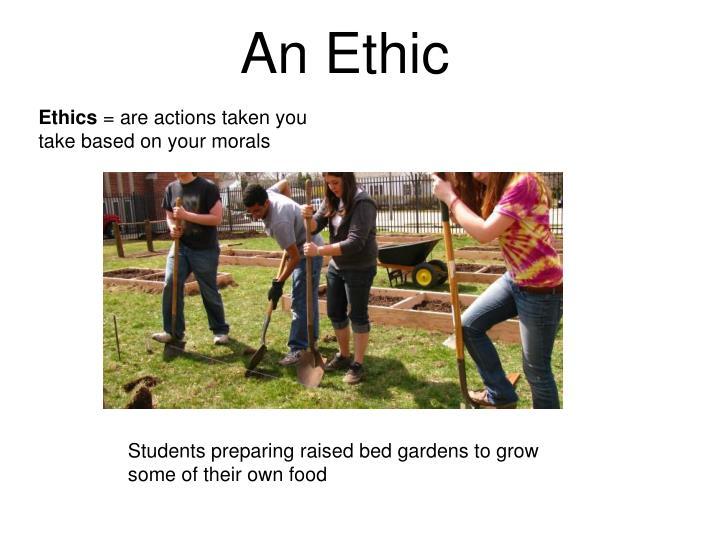 An Ethic
