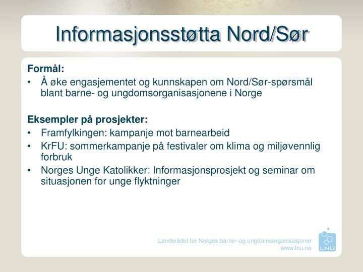 Informasjonsstøtta Nord/Sør