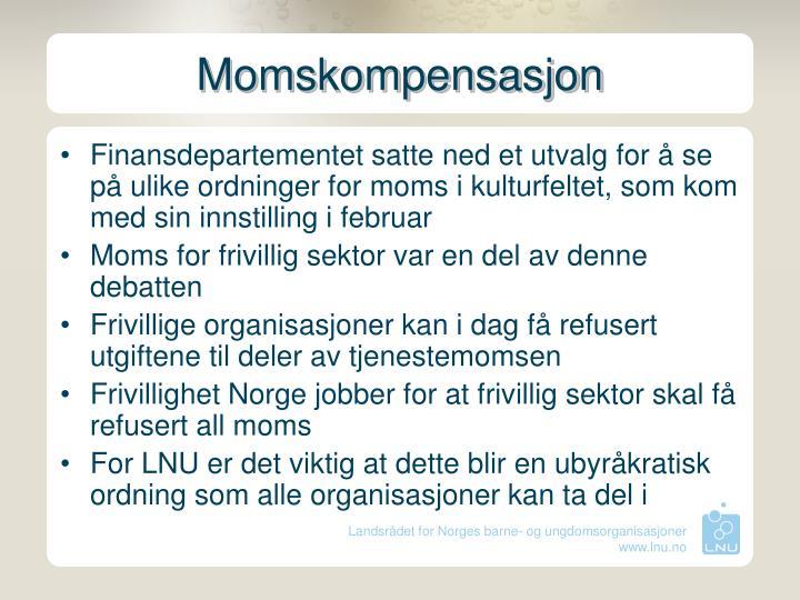 Momskompensasjon