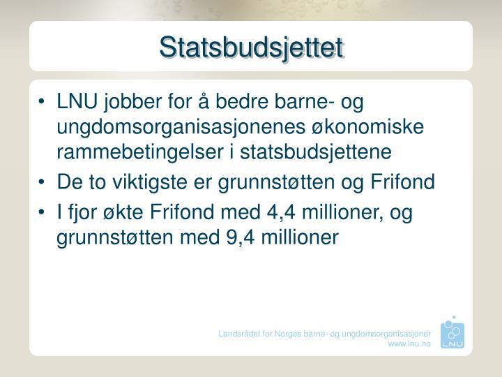 Statsbudsjettet