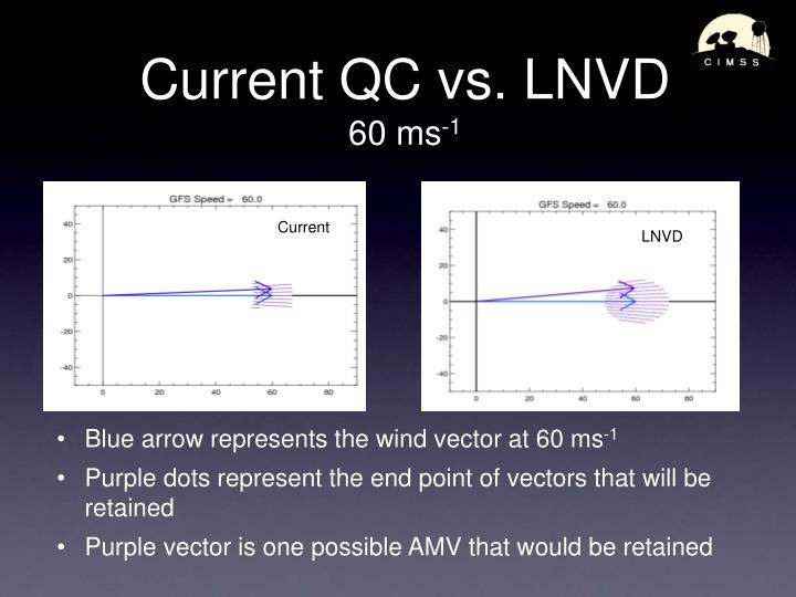 Current QC vs. LNVD