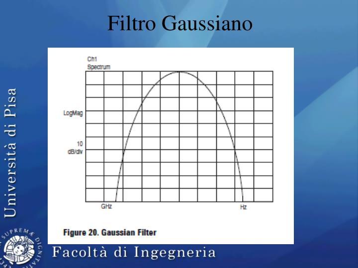 Filtro Gaussiano