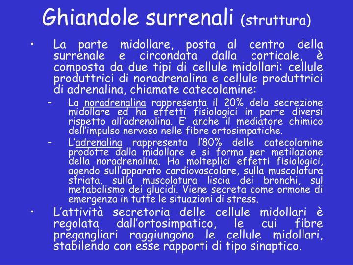 Ghiandole surrenali