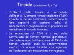 tiroide produzione t 3 e t 41