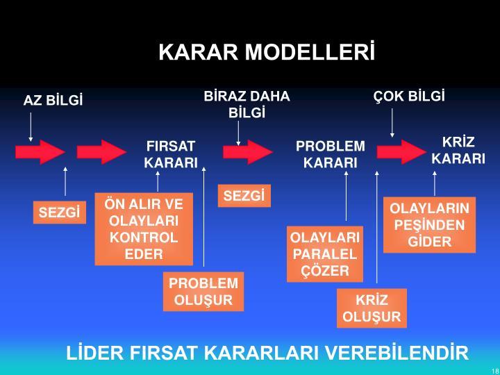KARAR MODELLERİ