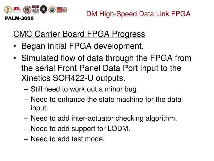 DM High-Speed Data Link FPGA