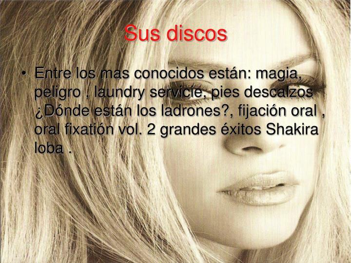 Sus discos