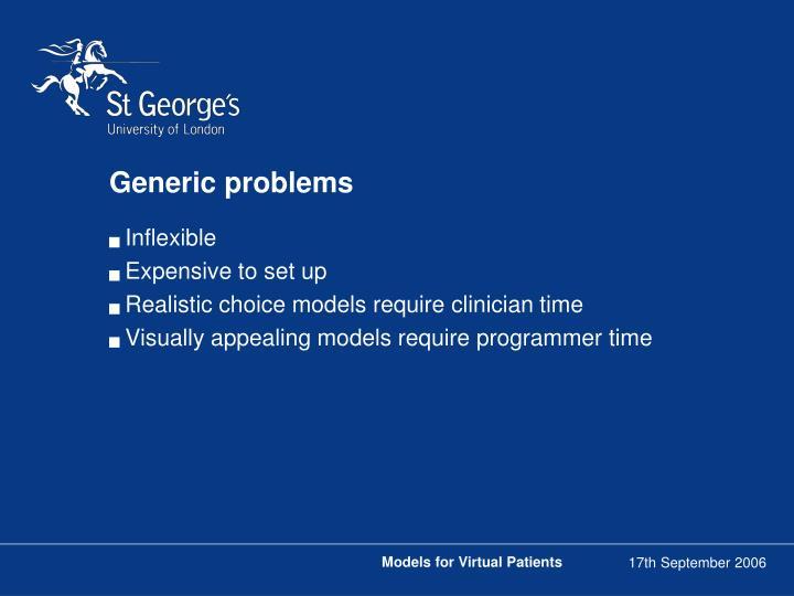 Generic problems