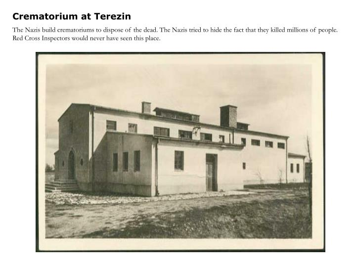 Crematorium at Terezin