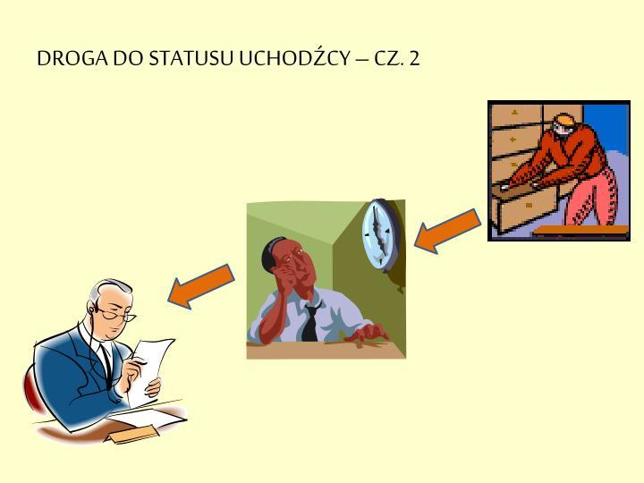 DROGA DO STATUSU UCHODŹCY – CZ. 2