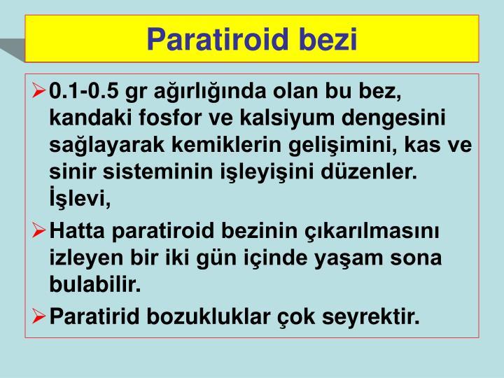 Paratiroid bezi