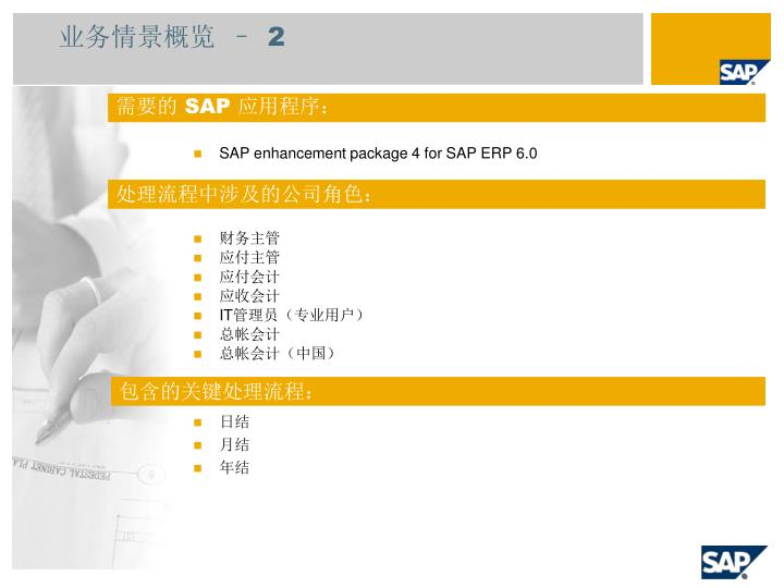 SAP enhancement package 4 for SAP ERP 6.0