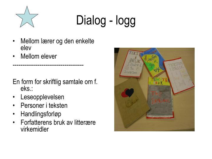 Dialog - logg