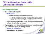 gpu bottlenecks frame buffer causes and solutions2