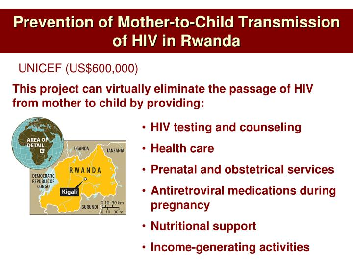Prevention of Mother-to-Child Transmission of HIV in Rwanda