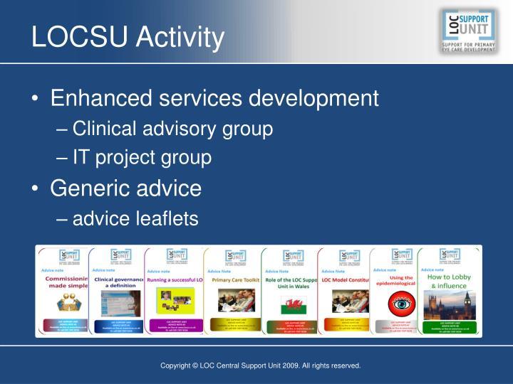 LOCSU Activity