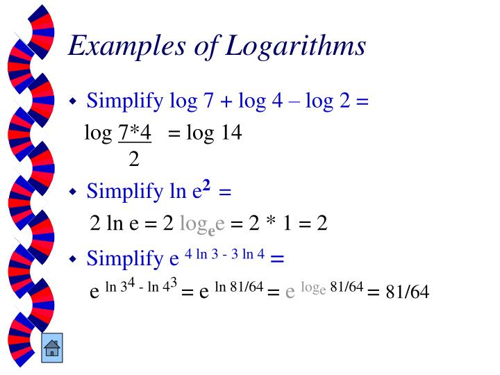 Examples of Logarithms