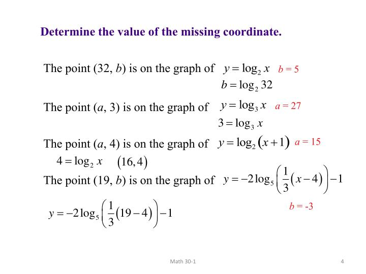 Determine the value of the missing coordinate.