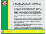 3 asimilasi assilimation