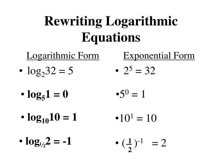 PPT - Introduction to Logarithms PowerPoint Presentation ...