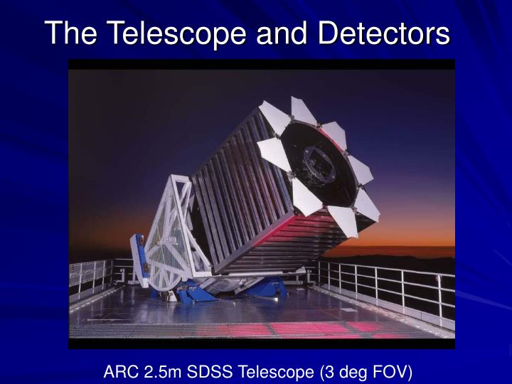 The Telescope and Detectors
