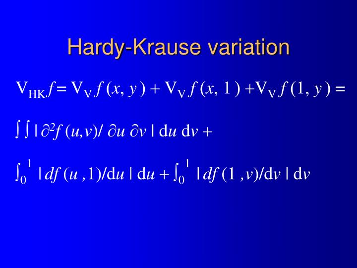 Hardy-Krause variation