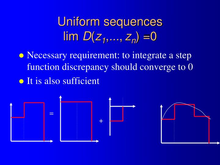 Uniform sequences