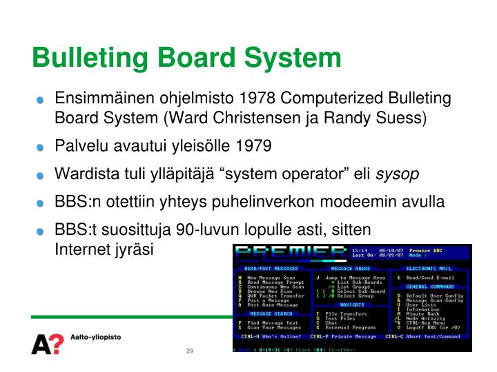 Bulleting Board System