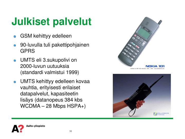 GSM kehittyy edelleen