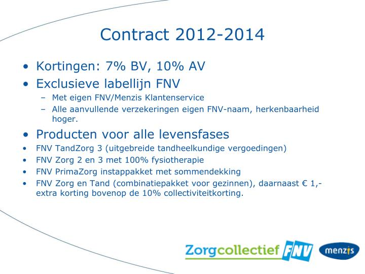 Contract 2012-2014