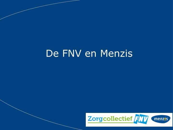 De FNV en Menzis