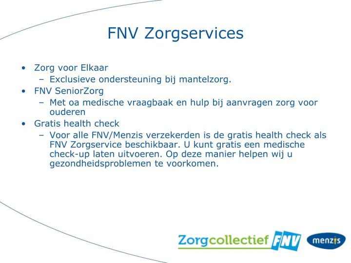FNV Zorgservices