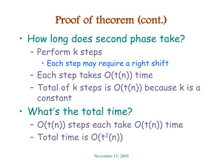Proof of theorem (cont.)