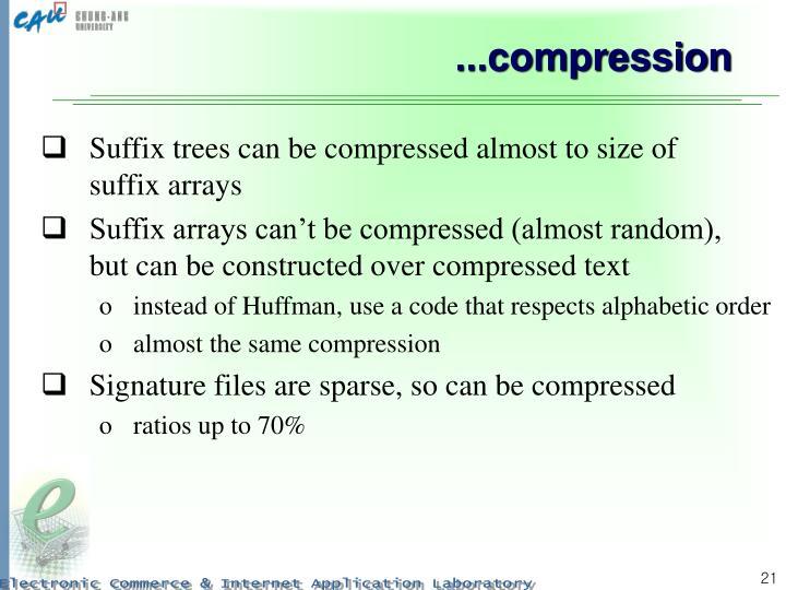...compression