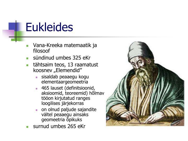 Eukleides