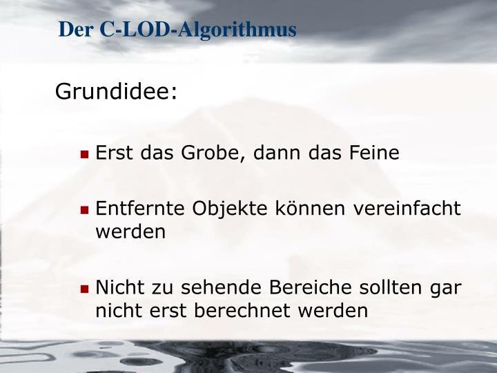Der C-LOD-Algorithmus