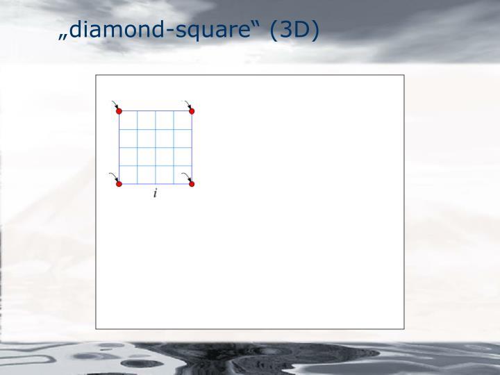 """diamond-square"" (3D)"