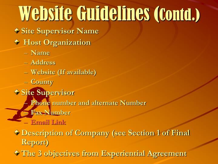 Site Supervisor Name