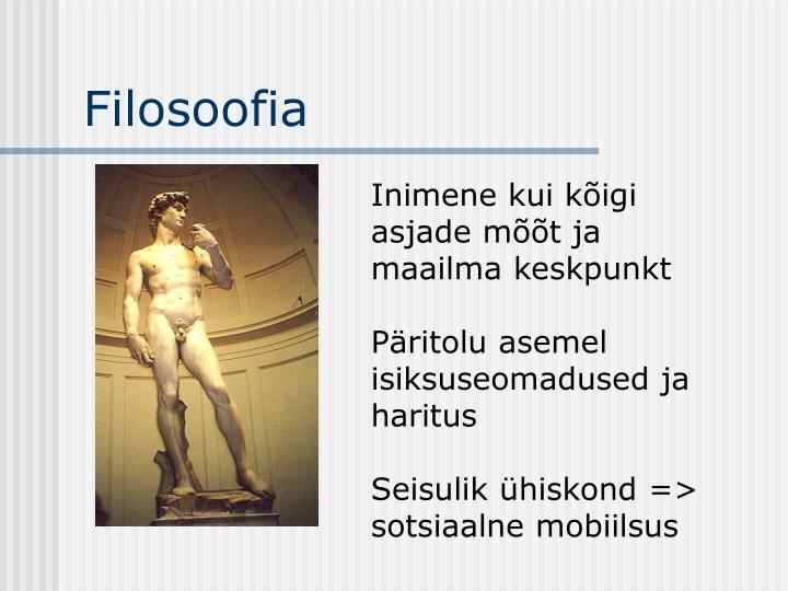 Filosoofia