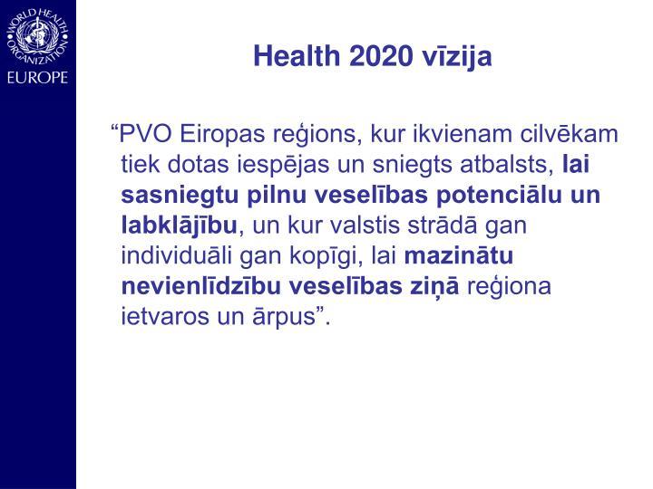 Health 2020