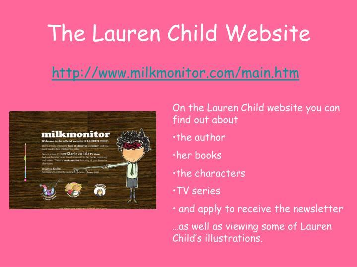 The Lauren Child Website