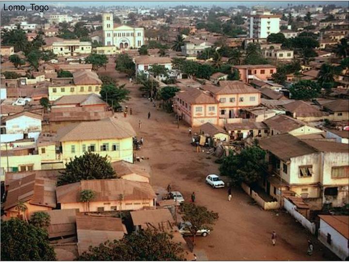 Lomo, Togo