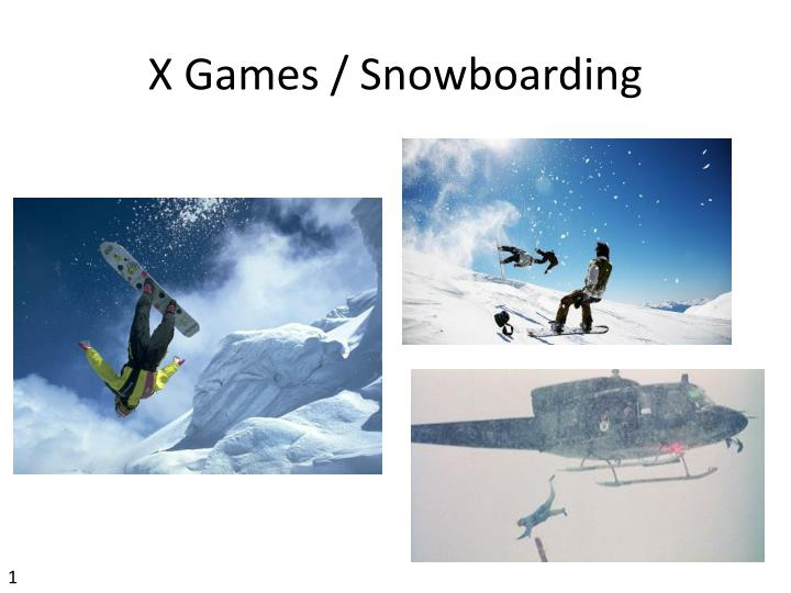 X Games / Snowboarding