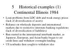 5 historical examples 1 continental illinois 1984